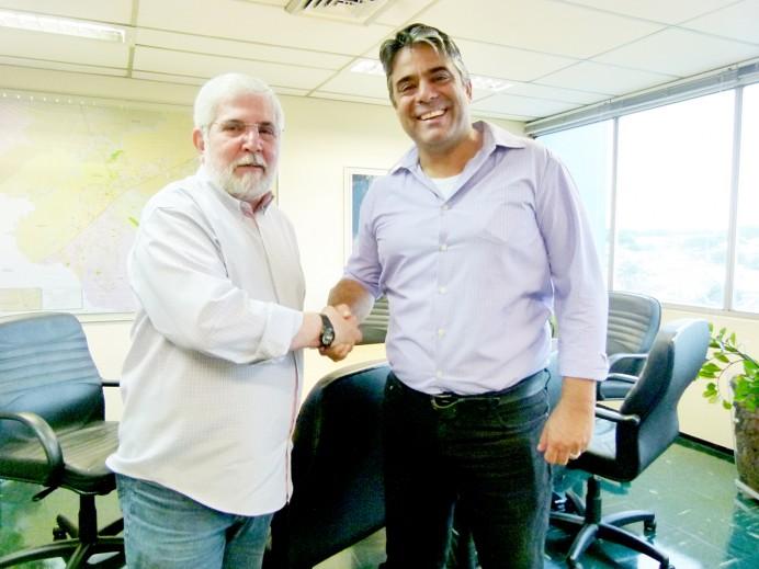 Diretoria da AEA/SJCampos reúne-se com Secretário de Urbanismo e Sustentabilidade