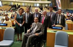 Presidente da AEA participa de conferência internacional sobre direitos das pessoas com deficiência