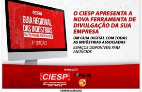 CIESP Vale do Paraíba e Alto Tietê lança Guia Regional das Indústrias