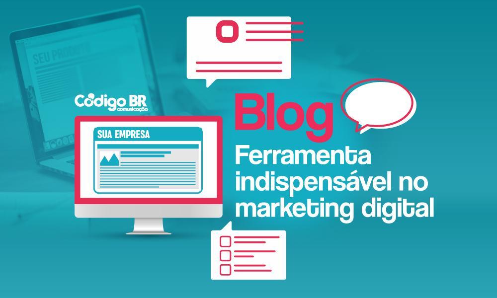 Blog - ferramenta indisponível no marketing digital